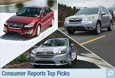 Consumer Reports Subaru Award Information Page