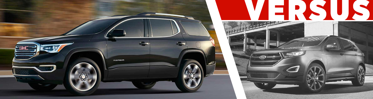 Compare  Gmc Acadia Vs Ford Edge Models Information