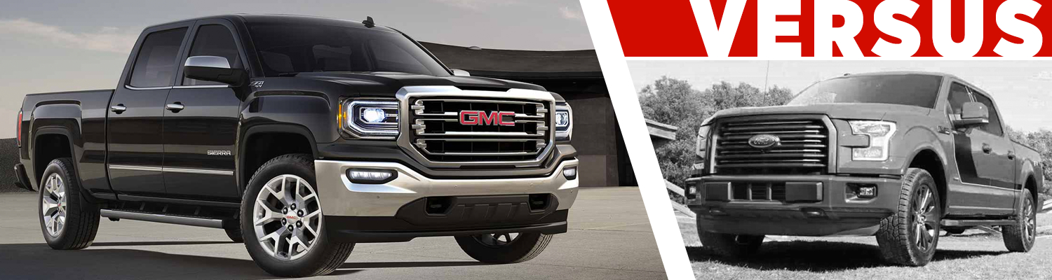 Gmc Sierra Vs Ford F 150 Trucks >> 2017 Gmc Sierra 1500 Vs Ford F 150 Model Comparison Colorado
