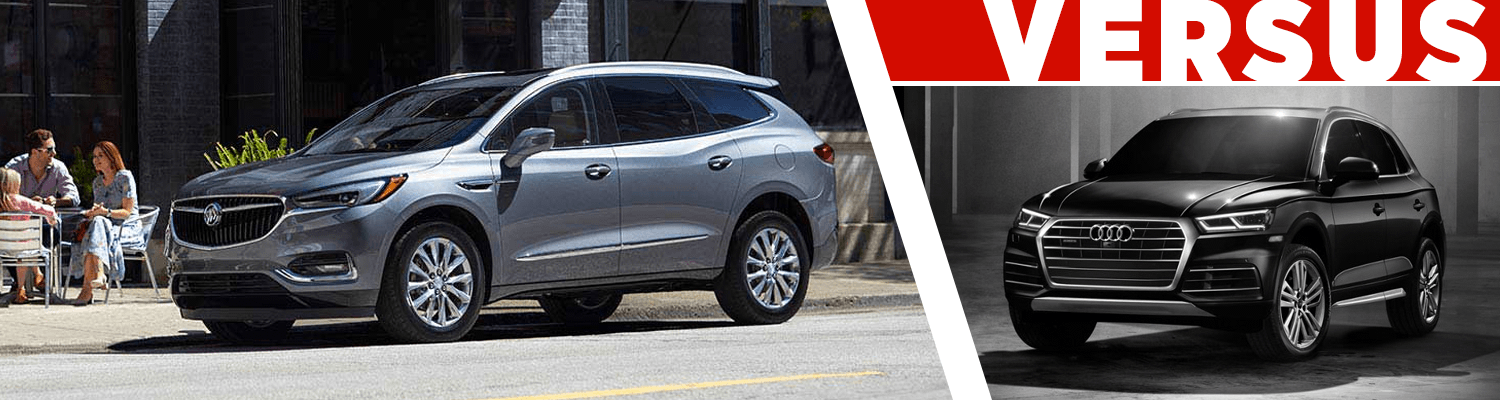 Buick Enclave Vs Audi Q Features Details SUV Model - Audi q5 models