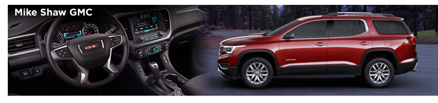 Mike Shaw Gmc >> New 2017 GMC Acadia Model Details & Features | Colorado Springs Car Leasing