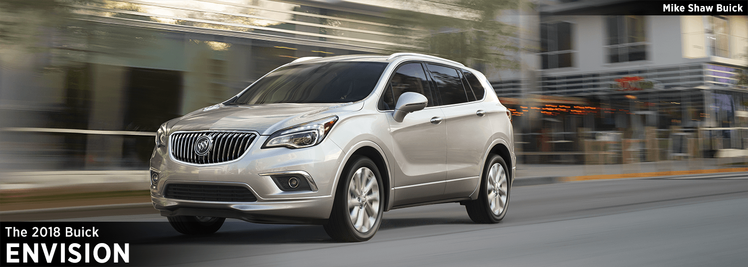 Mike Shaw Buick Gmc >> New 2018 Buick Envision Crossover Features & Details - crossover model research information ...