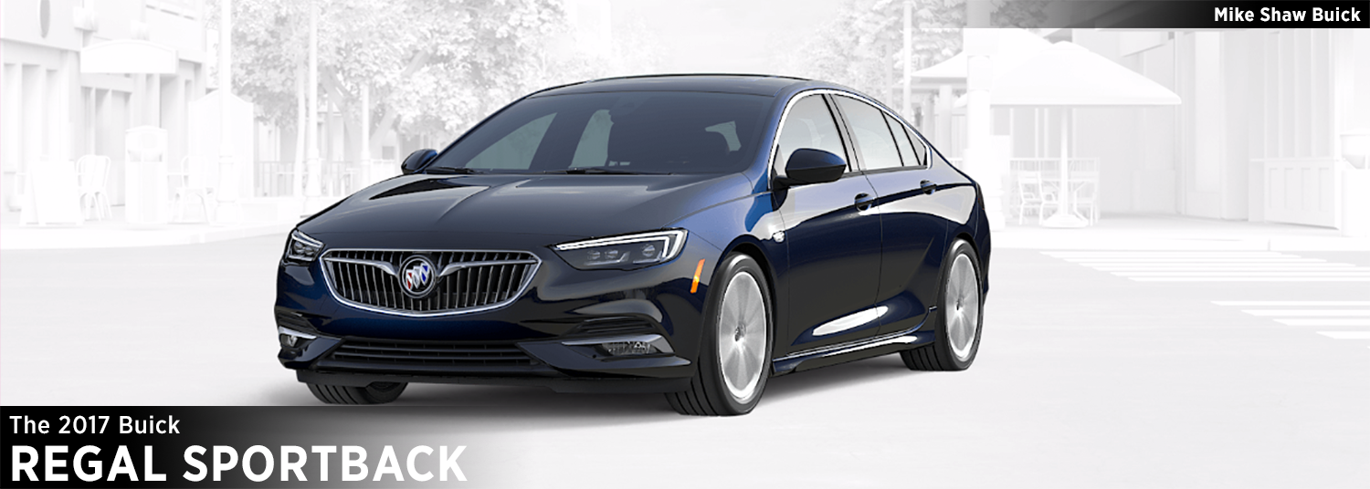 Mike Shaw Buick Gmc >> 2018 Buick Regal Sportback Model Information | Luxury Car Research | Colorado Springs, CO