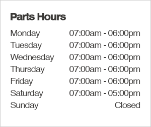 Mike Shaw Subaru Parts Department Hours