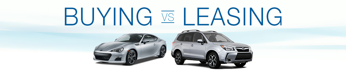 Lease A Subaru >> Subaru Buying Vs Leasing In Thornton Co Subaru Lease At