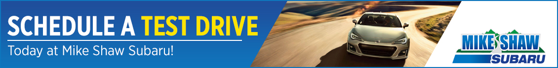 Schedule A Test Drive Today at Mike Shaw Subaru in Thornton, CO