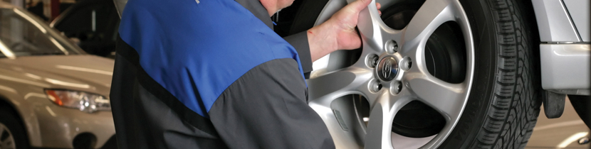 Subaru Tire Balance Rotation Maintenance Service Repair
