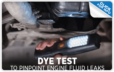 Click to research our fluid leak dye test service information at Mike Shaw Subaru serving Denver, CO