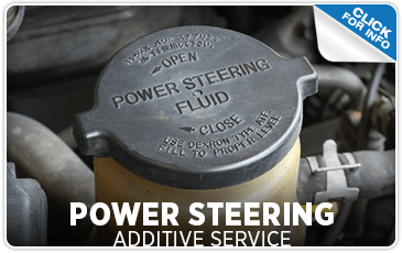 Click to research our power steering additive service information at Mike Shaw Subaru serving Denver, CO