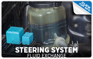 Click to research our steering fluid exchange service information at Mike Shaw Subaru serving Denver, CO