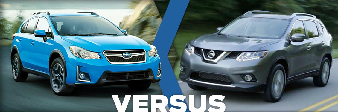 Subaru Dealers Denver >> 2016 Subaru Crosstrek VS 2016 Nissan Rogue Model Feature ...