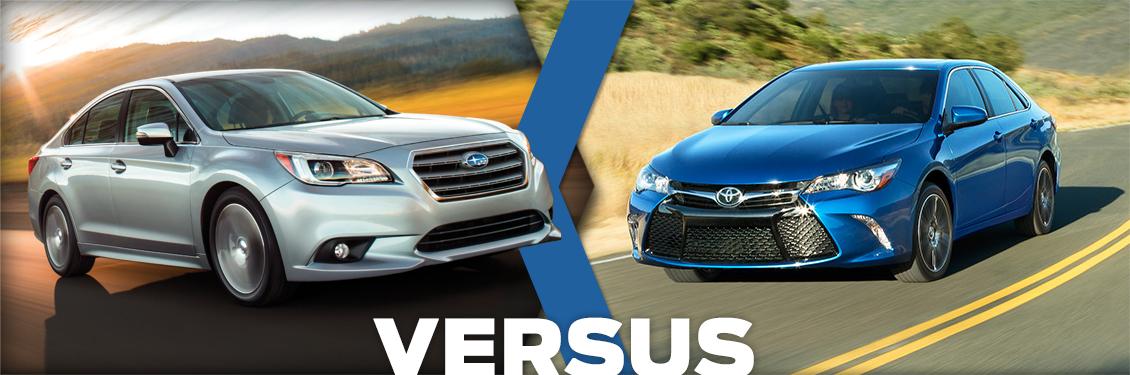2016 Subaru Legacy Vs 2016 Toyota Camry Model Feature