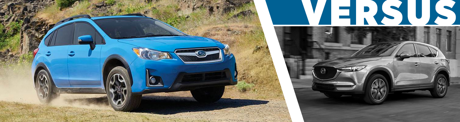 2017 Subaru Crosstrek vs 2017 Mazda CX5 Comparison  Serving