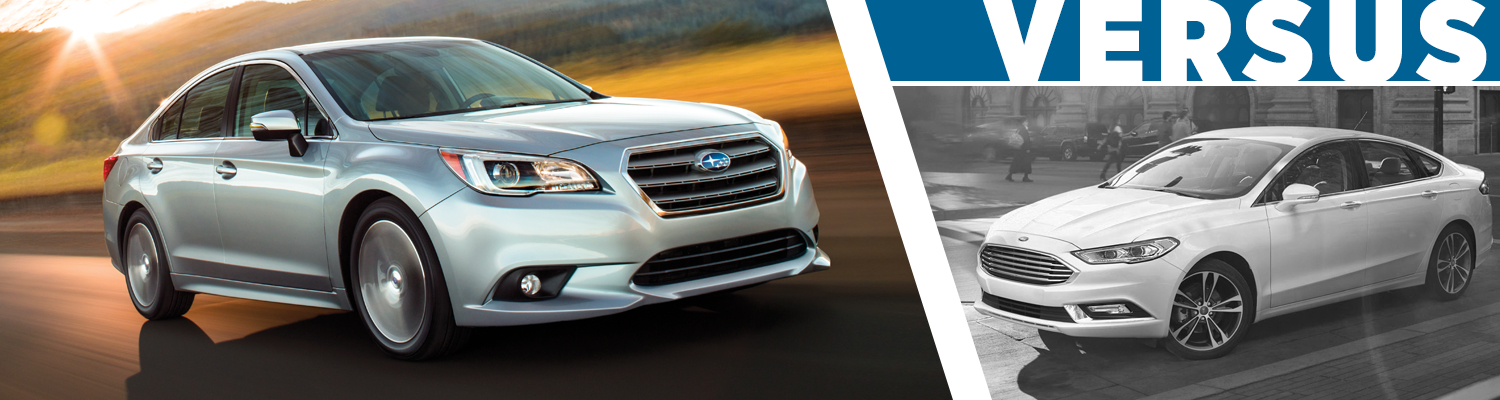 2017 Subaru Legacy Vs 2017 Ford Fusion Model Comparison