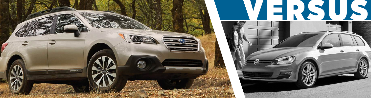 2017 Subaru Outback VS 2017 Volkswagen Golf Sportswagen Model
