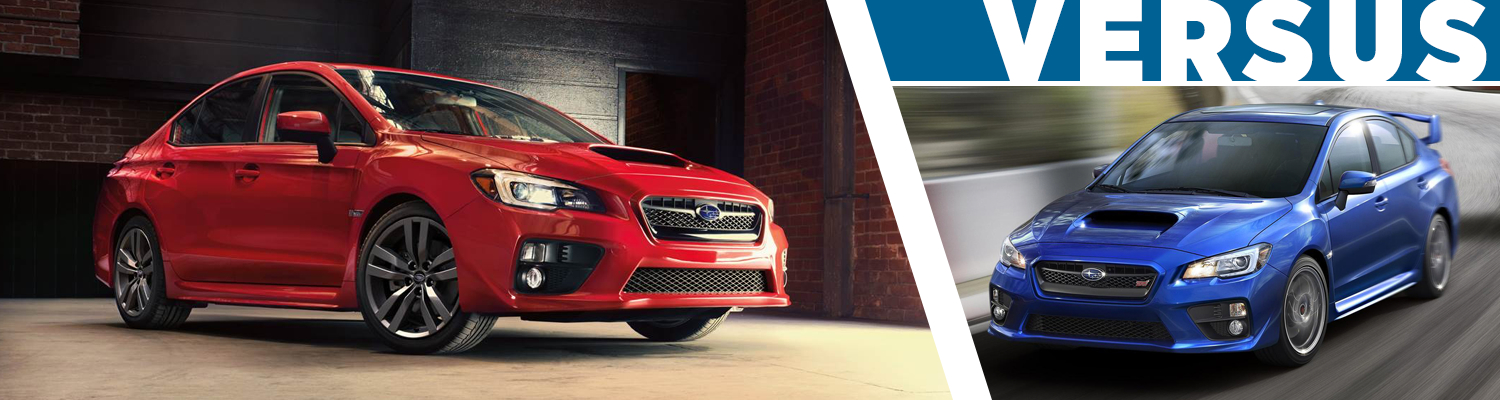 2017 Subaru WRX vs 2017 Subaru WRX STI Model Comparison  Serving