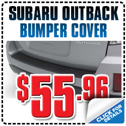 Subaru Outback Bumper Cover Parts Special Discount serving Denver, Colorado, Thornton, Boulder, Fort Collins