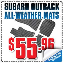 Genuine Subaru Outback All-Weather Floor Mat Parts Special serving Denver, Colorado, Thornton, Boulder, Fort Collins