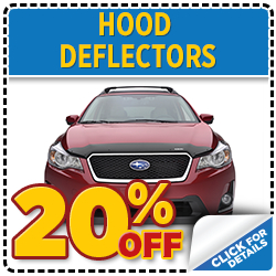 Protect your paint job with a genuine Subaru hood deflector in Thornton, CO. Click here to save!