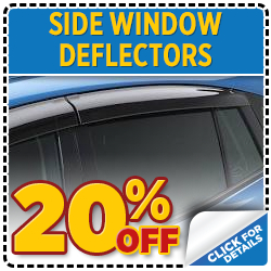 Save on Subaru Side Window Deflectors with this parts special at Mike Shaw Subaru