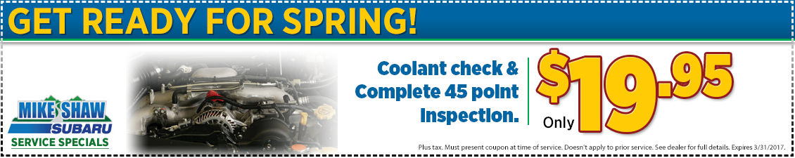 Click to Print This Subaru Multi-Point Inspection Special in Thornton, CO
