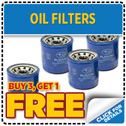Click to save with our Subaru oil filter parts special serving Denver, CO