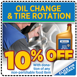 Click to Print This Subaru Oil Change & Tire Rotation Service Special in Thornton, CO