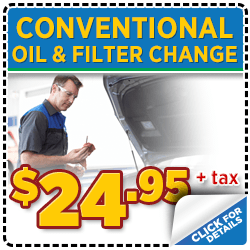 Click to view our Subaru conventional oil change service special serving Denver, CO