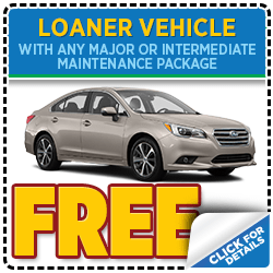 Click to view our Subaru service loaner special serving Denver, CO