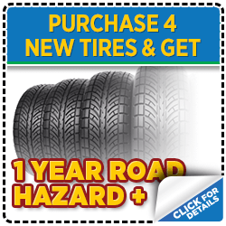 Click to view our Subaru tire purchase service special serving Denver, CO