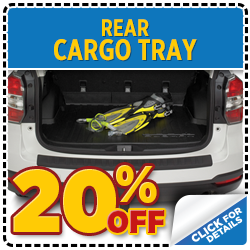 Click for our Subaru Rear Cargo Tray parts special at Mike Shaw Subaru serving Denver, CO