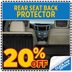 Click our Subaru Rear Seat Back Protector parts special at Mike Shaw Subaru serving Denver, CO