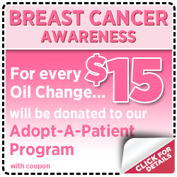 Support Breast Cancer Research with on Oil Change at Mike Shaw Subaru serving Denver, CO