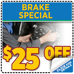 Browse our brake repair service special at Mike Shaw Subaru serving Denver, CO
