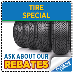 See our tire purchase service special at Mike Shaw Subaru serving Denver, CO