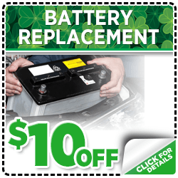 Browse our battery replacement service special at Mike Shaw Subaru serving Denver, CO