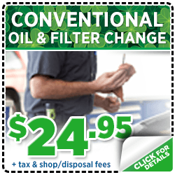 Browse our conventional oil change service special at Mike Shaw Subaru serving Denver, CO