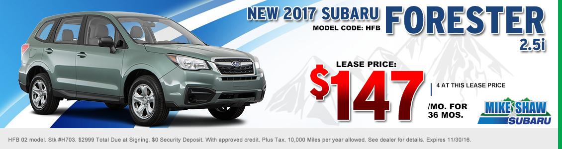 New 2016 Subaru Specials Thornton Amp Denver Area Car