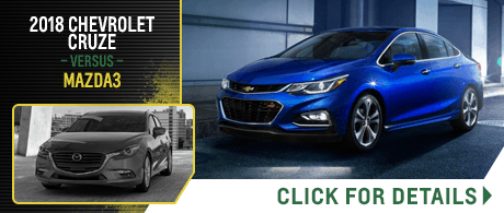 Compare Our New 2018 Chevrolet Models Vs Competitive Makes Models