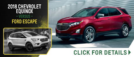 Compare Our New 2018 Chevrolet Models Vs Competitive Makes