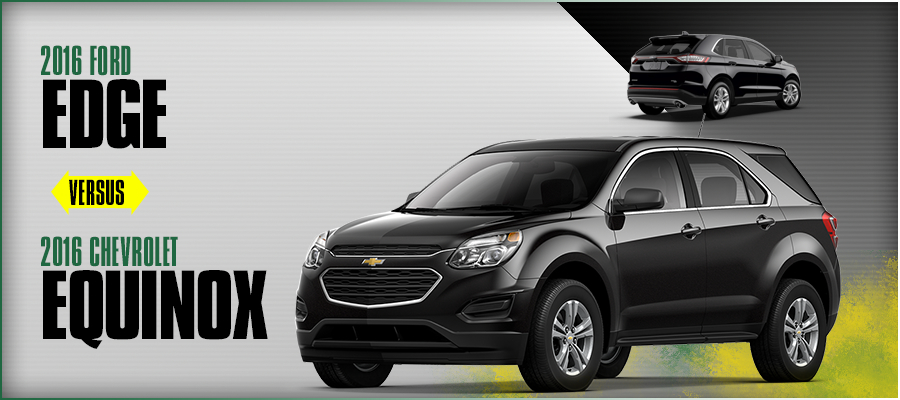Chevrolet Equinox Vs  Ford Edge Model Comparison In El Paso Tx
