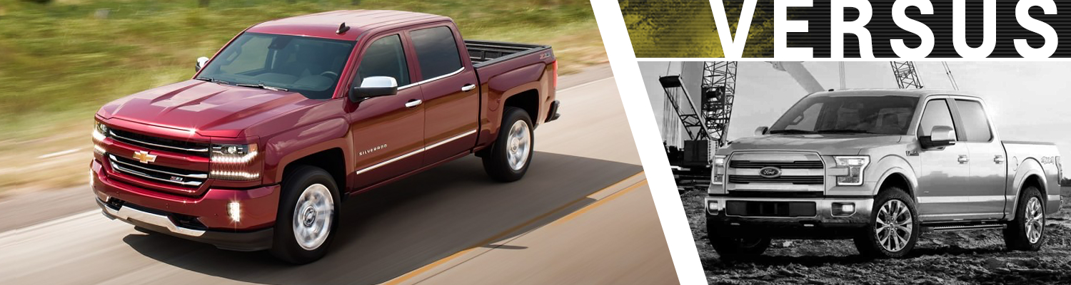 2017 chevy silverado vs 2017 ford f 150 model comparison. Black Bedroom Furniture Sets. Home Design Ideas