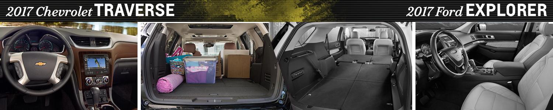 2017 chevy traverse vs 2017 ford explorer model comparison el paso tx. Black Bedroom Furniture Sets. Home Design Ideas
