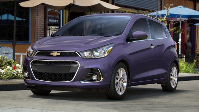 New 2016 Chevrolet Spark Details Features El Paso Electric Car