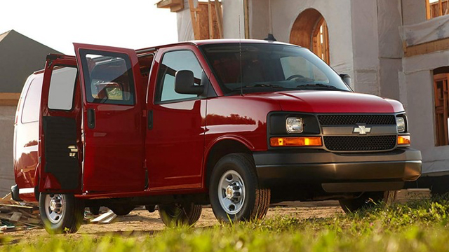 2017 Chevrolet Express Cargo Van Features And Details From Mission Chevrolet  ...