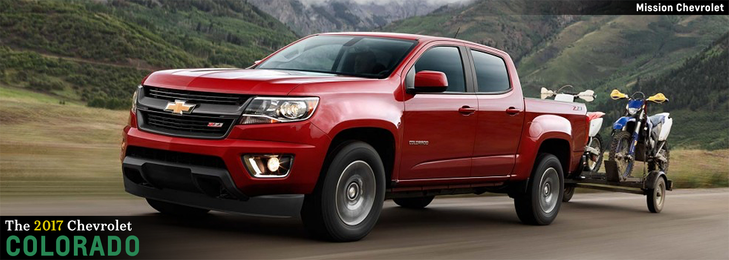 2017 Chevrolet Colorado Model Details Truck Research El Paso Tx