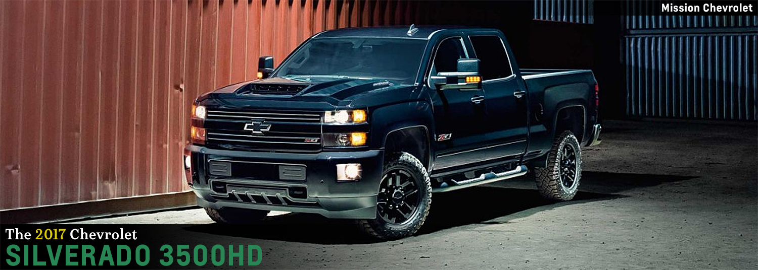 2017 Chevrolet Silverado 3500hd Model Heavy Duty Truck Research