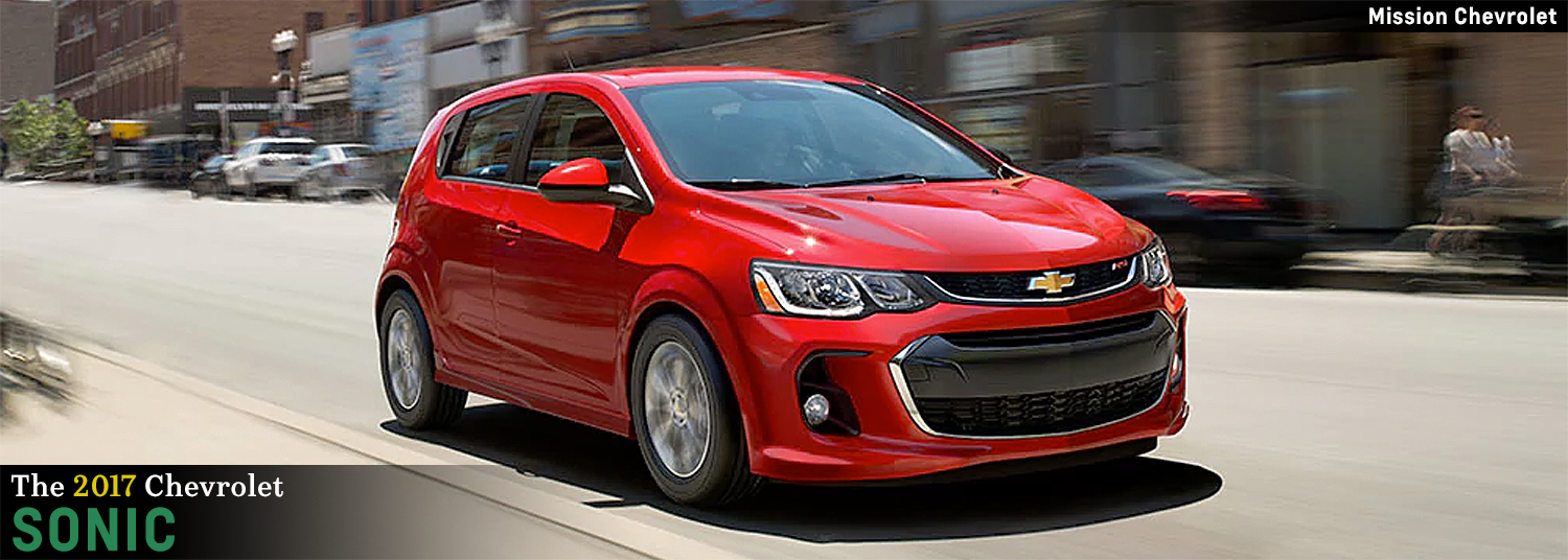 Chevy Sonic New Car Ad