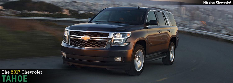 Attractive 2017 Chevrolet Tahoe Model Features In El Paso, TX
