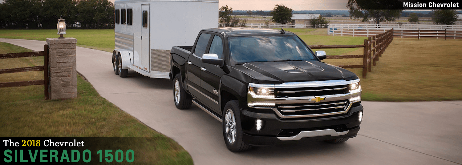 2018 Chevrolet Silverado 1500 Model Features In El Paso, TX